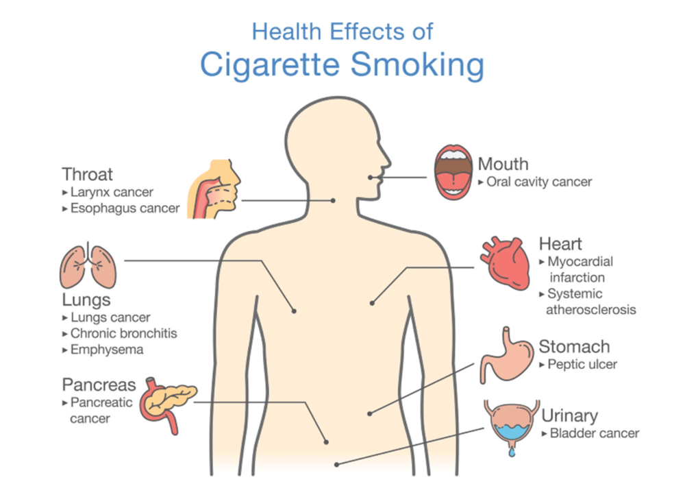 the Health effects of smoking